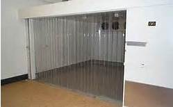 Strip curtain for cold room